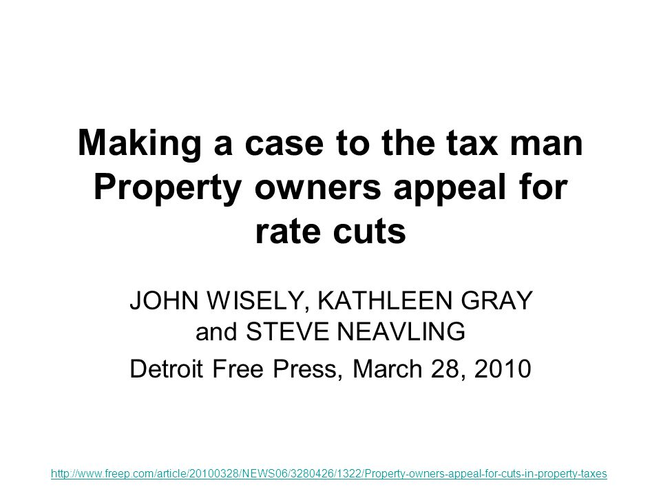 Seeking Relief Property values across Michigan fell hard in 2009, reducing tax bills with them, but many homeowners wanted more.