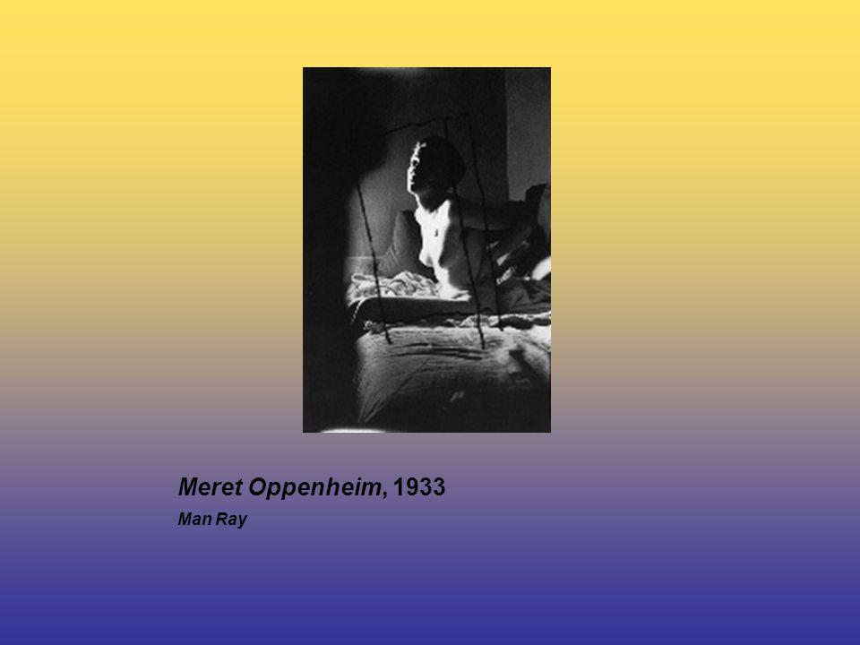 Meret Oppenheim, 1933 Man Ray