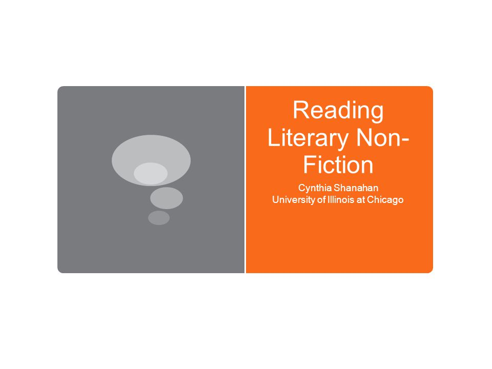 What is literary non-fiction Alternatively known as creative nonfiction, literary journalism, and the literature of fact, literary nonfiction is that branch of writing which employs literary techniques and artistic vision usually associated with fiction or poetry to report on actual persons, places, or events.
