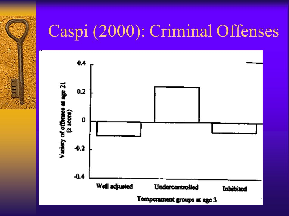 Caspi (2000): Criminal Offenses