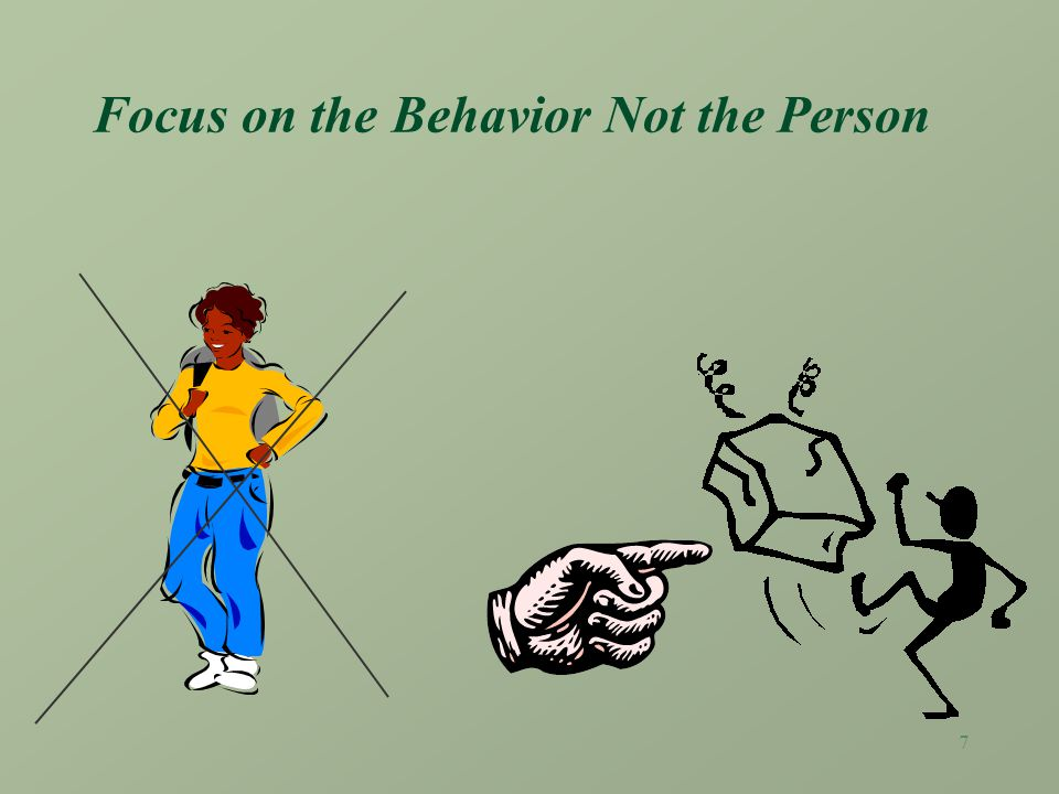 6 Coaching Ground Rules: Focus on behavior - not the person. Be descriptive, not evaluative. Listen Be concrete Be clear and direct Be timely Be consi