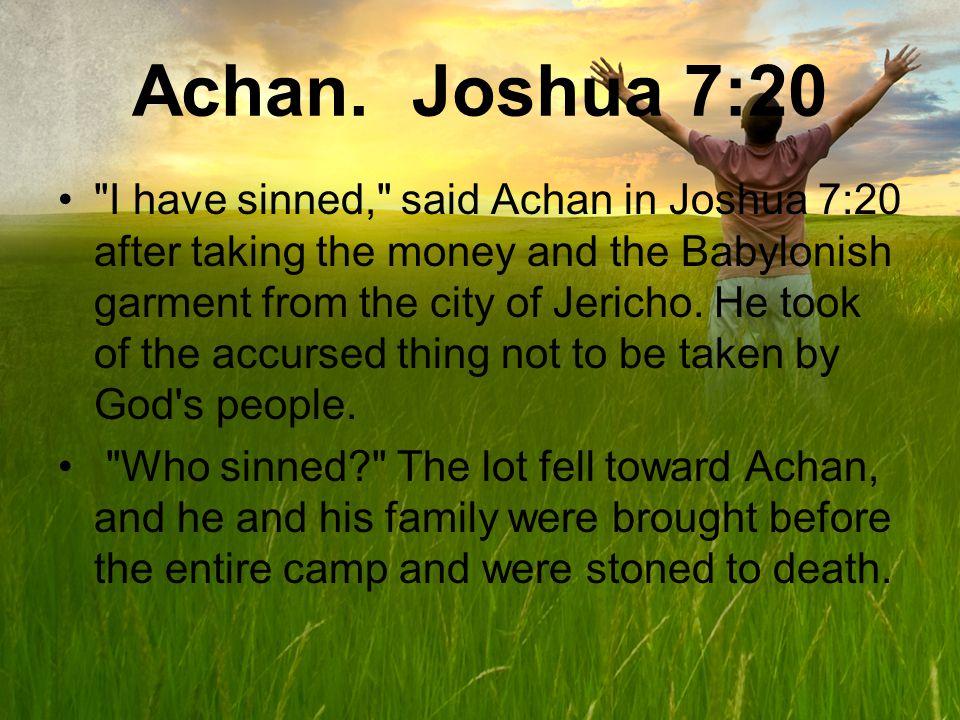 Achan.
