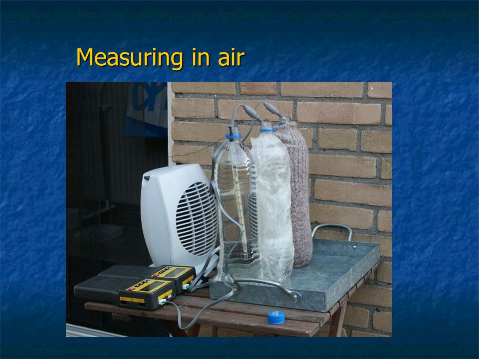 Measuring in air