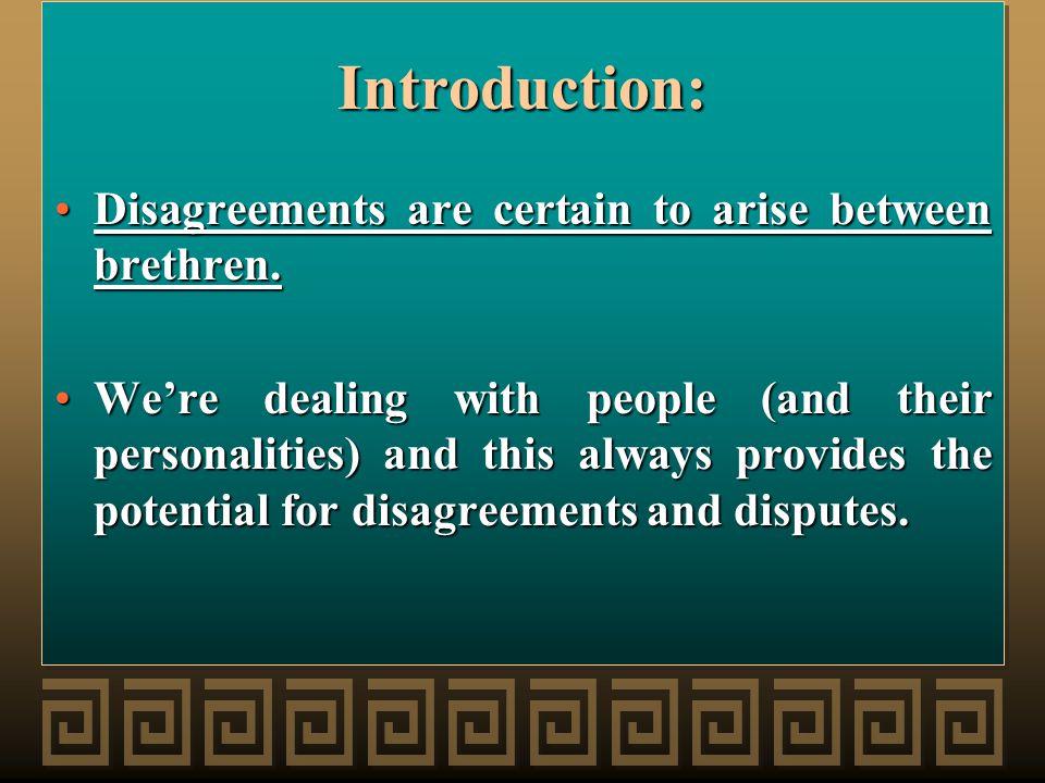 Study the disagreement carefully!Study the disagreement carefully.