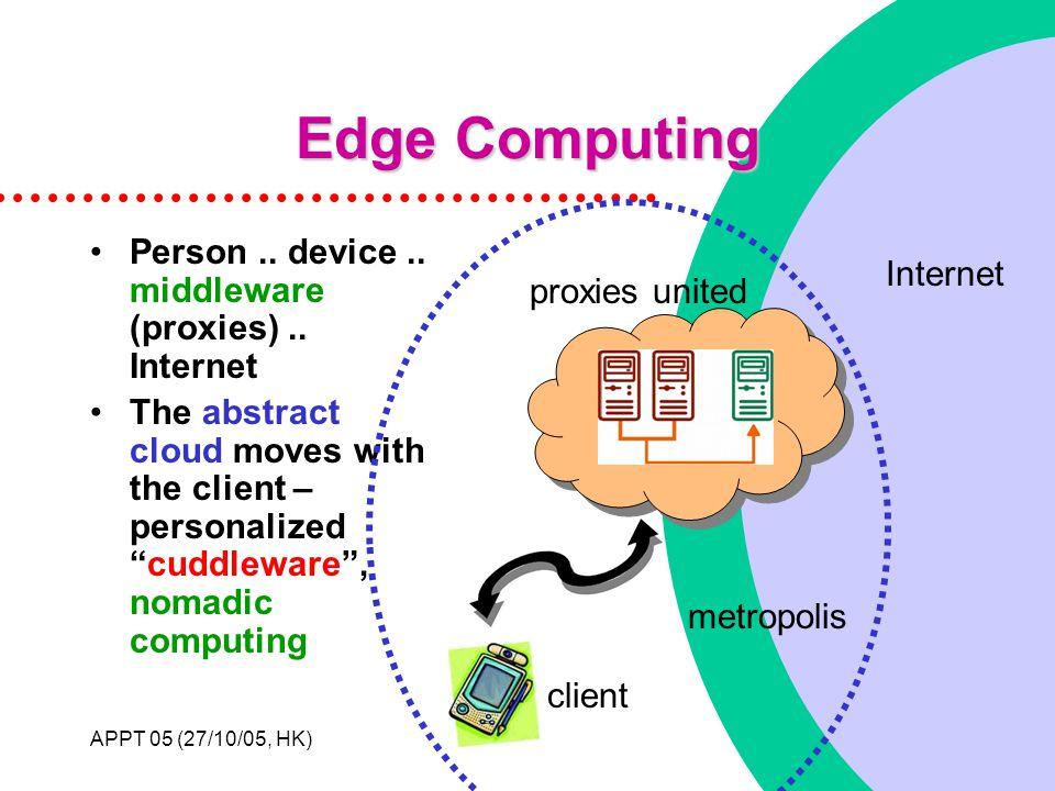 APPT 05 (27/10/05, HK)10 Edge Computing Person.. device..