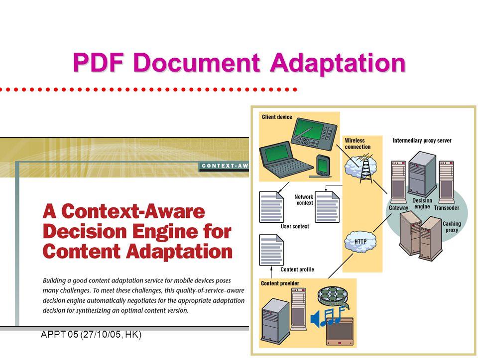 APPT 05 (27/10/05, HK)28 PDF Document Adaptation
