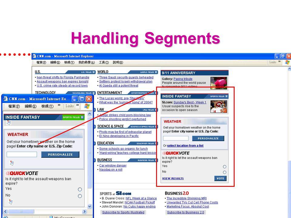 APPT 05 (27/10/05, HK)34 Handling Segments