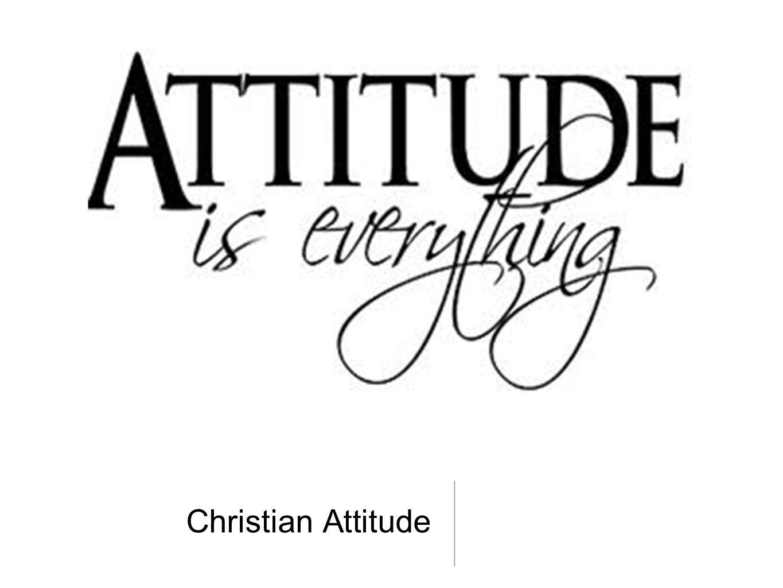 Christian Attitude