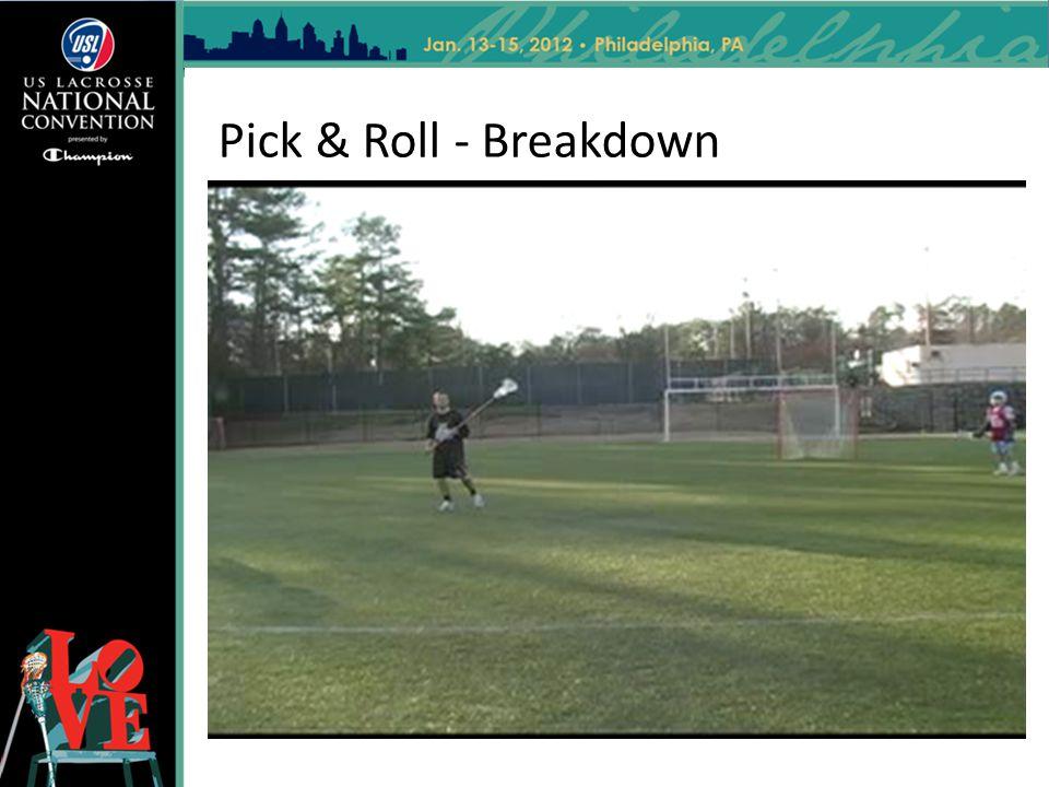 Pick & Roll - Breakdown