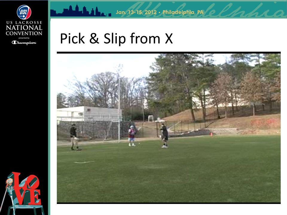 Pick & Slip from X