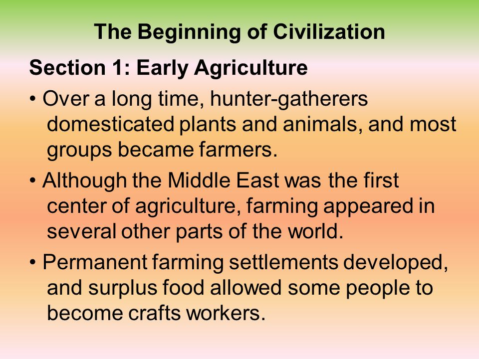 Early People Section 3: Populating the Earth By about 12,500 years ago, modern humans had spread to many regions of the world, including Africa, Asia,