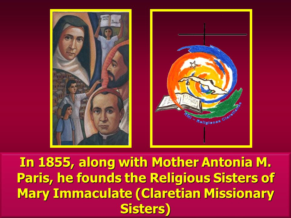 In 1855, along with Mother Antonia M.