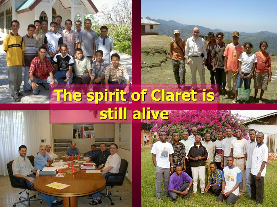 The spirit of Claret is still alive