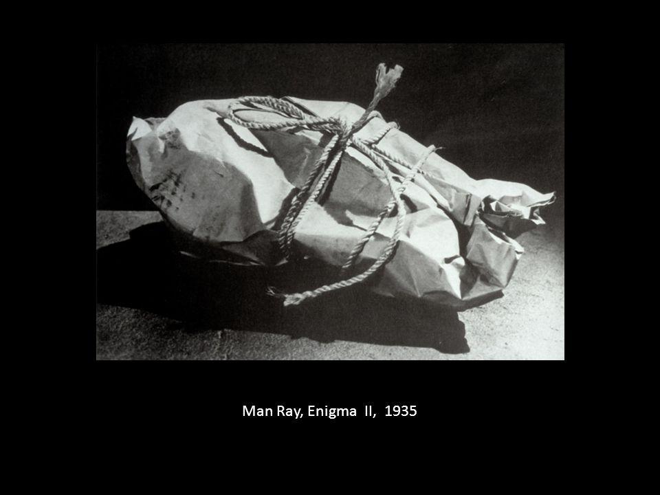 Man Ray, Enigma II, 1935
