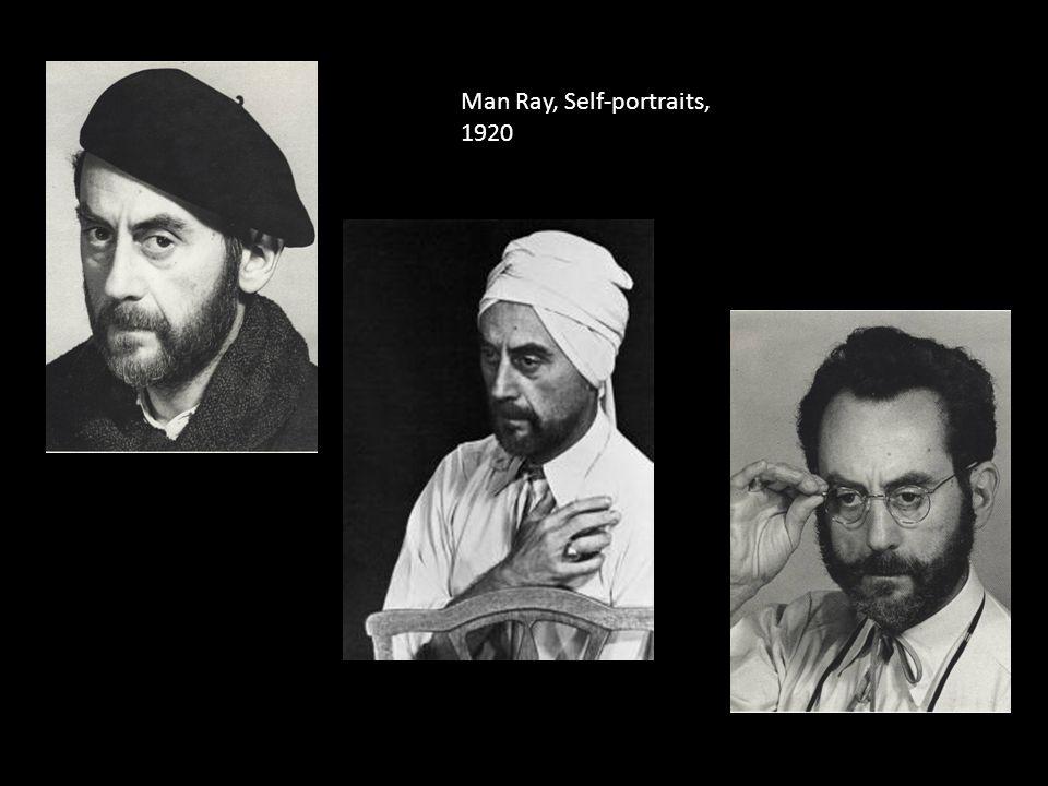 Man Ray, Self-portraits, 1920