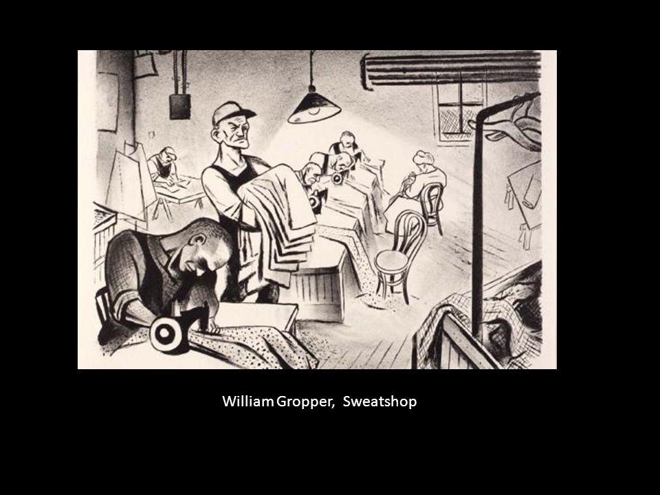 William Gropper, Sweatshop