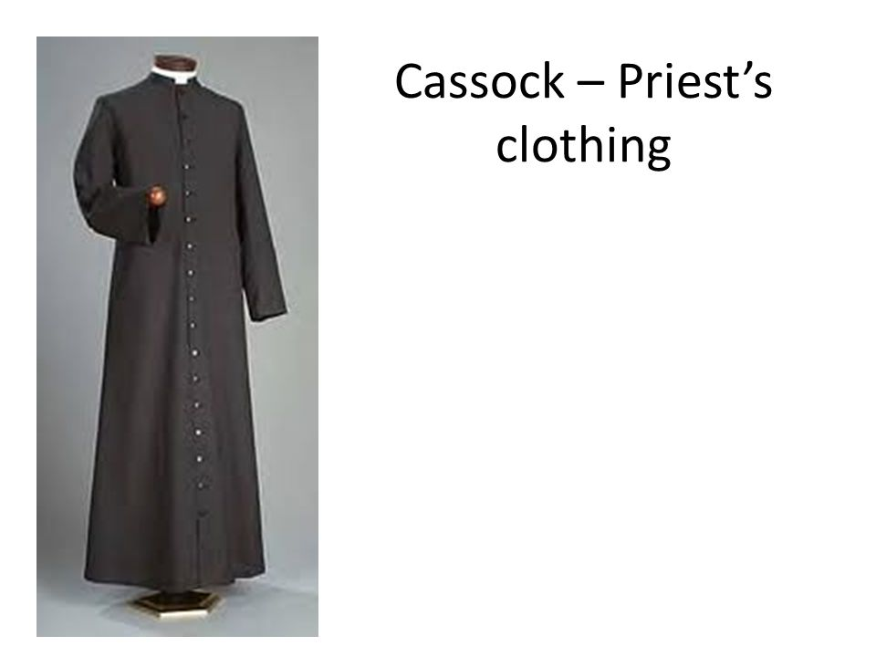 Cassock – Priests clothing