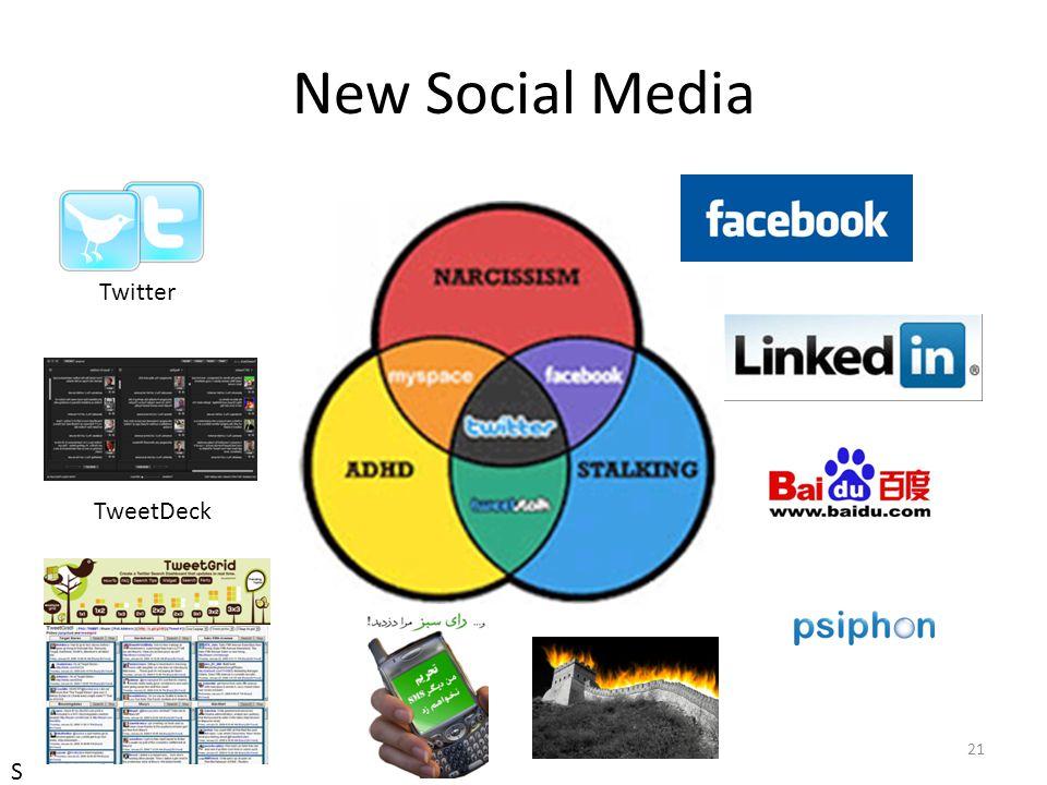 New Social Media 21 Twitter TweetDeck S