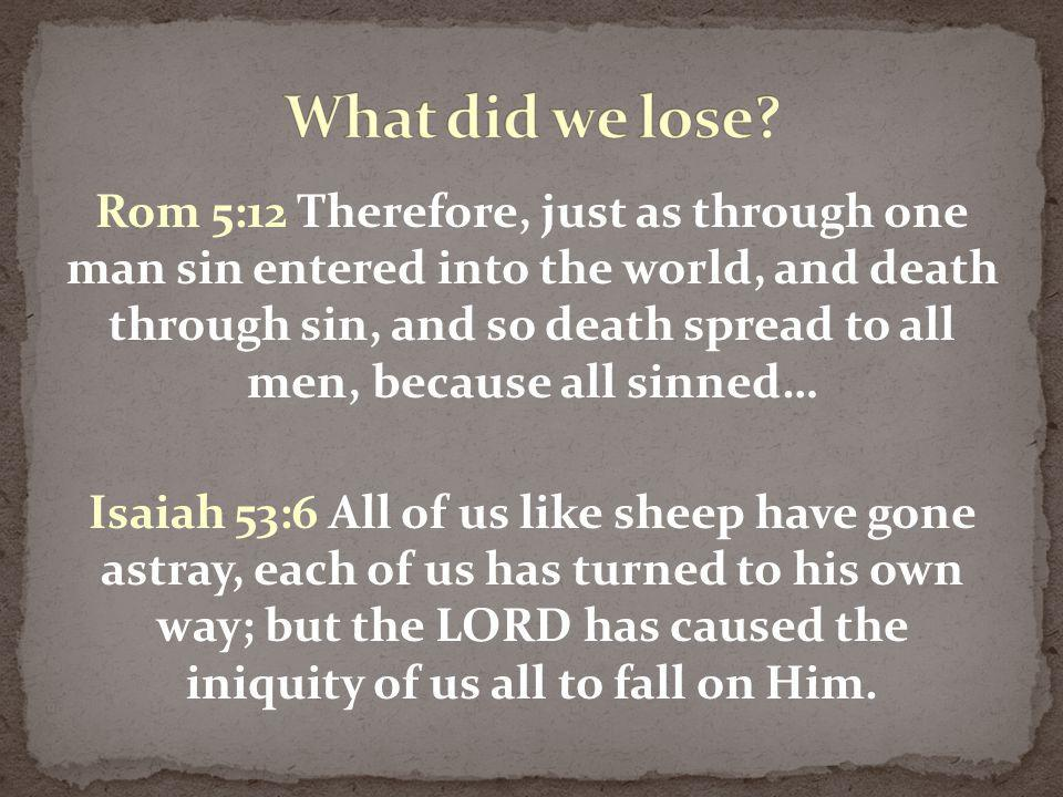 If a man has a hundred sheep…