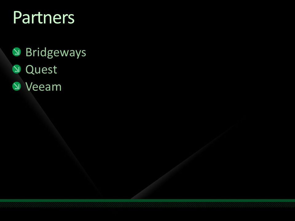 Partners Bridgeways Quest Veeam