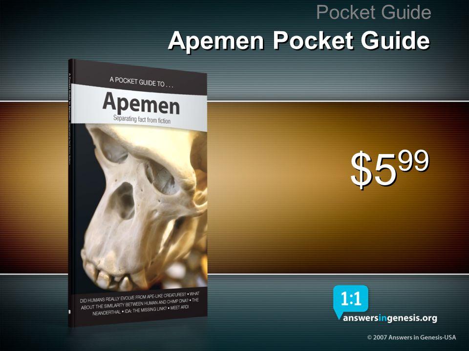 Apemen Pocket Guide Pocket Guide $5 99