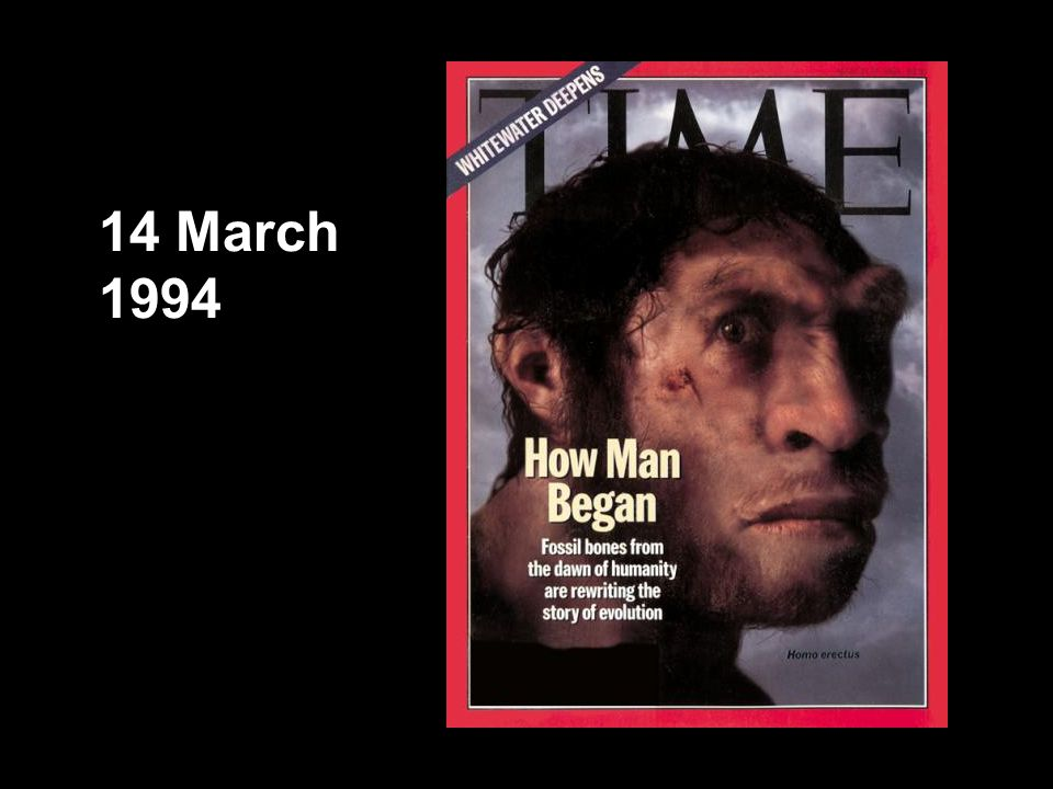 TIME cover, 14 March 1994 14 March 1994