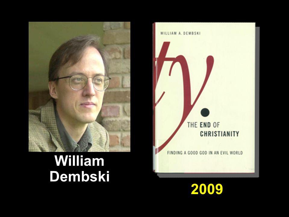 2009 William Dembski