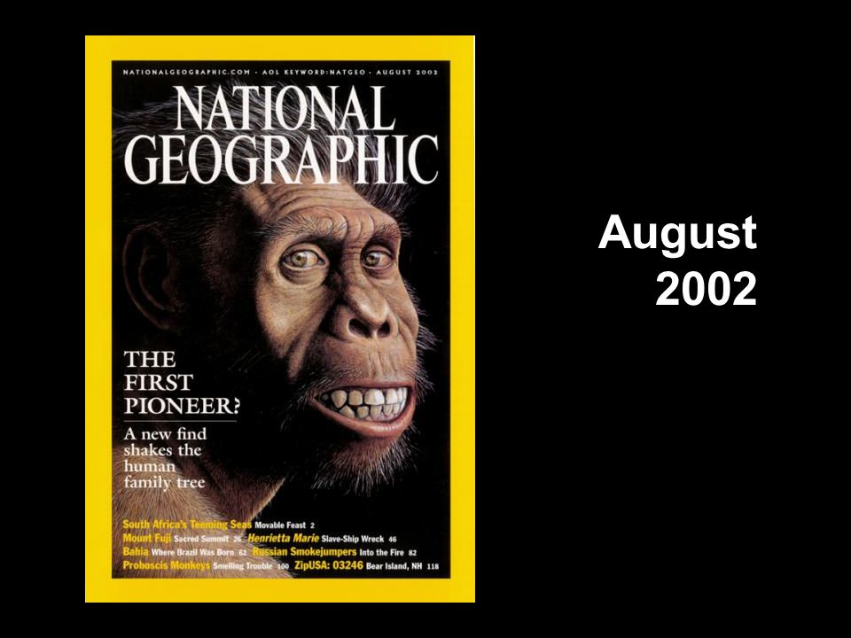 National Geographic cover, August 2002 August 2002