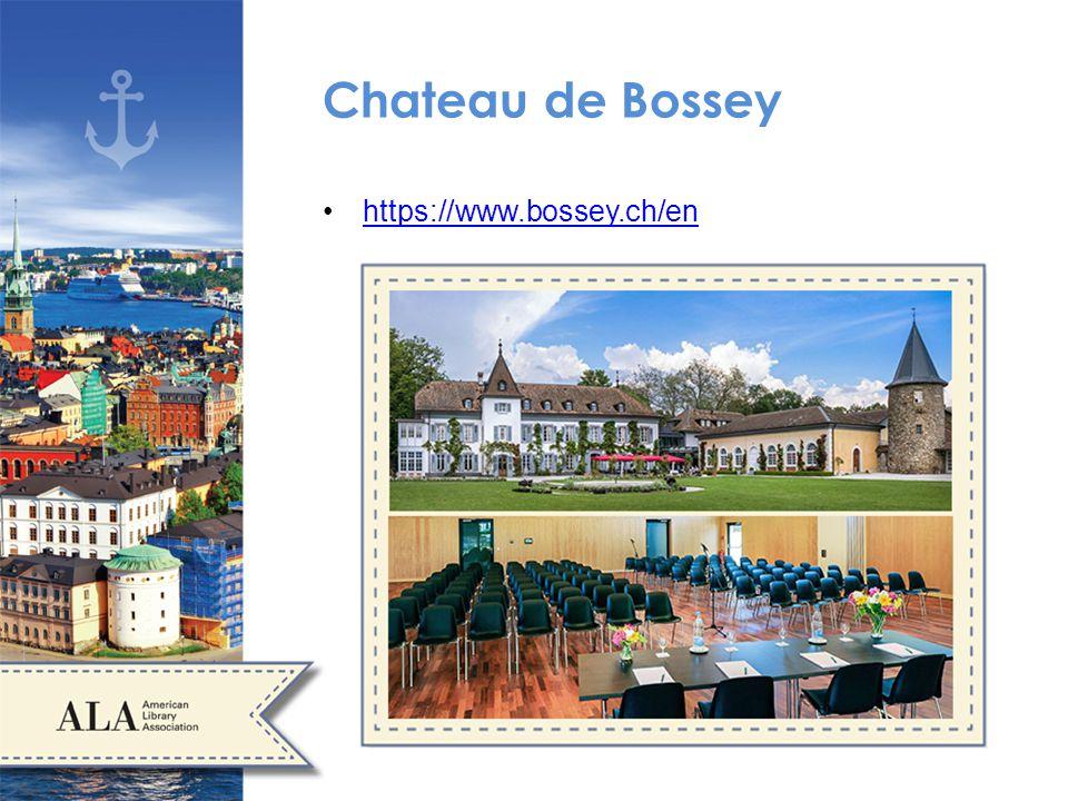 Chateau de Bossey https://www.bossey.ch/en