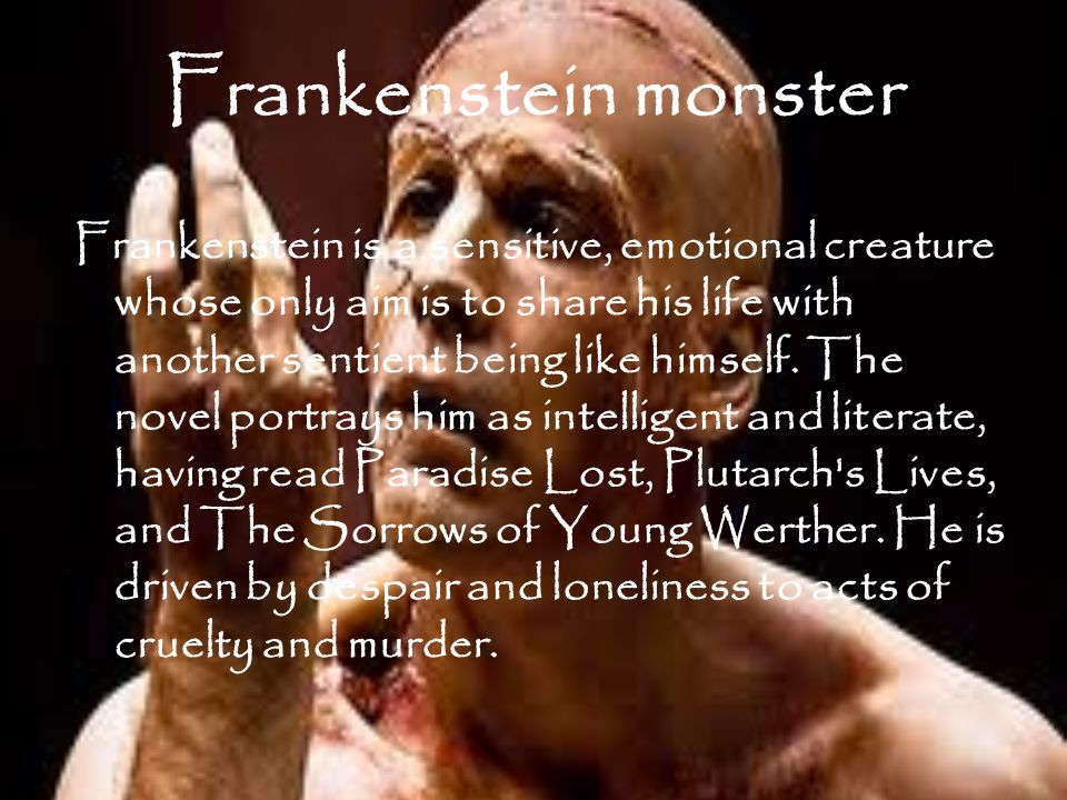 Frankenstein Rousseau s theory