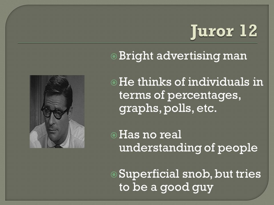 Bright advertising man He thinks of individuals in terms of percentages, graphs, polls, etc.
