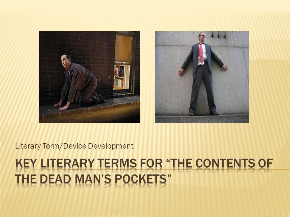 Literary Term/Device Development