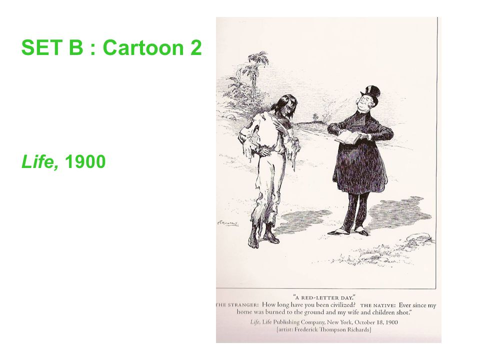 SET B : Cartoon 2 Life, 1900