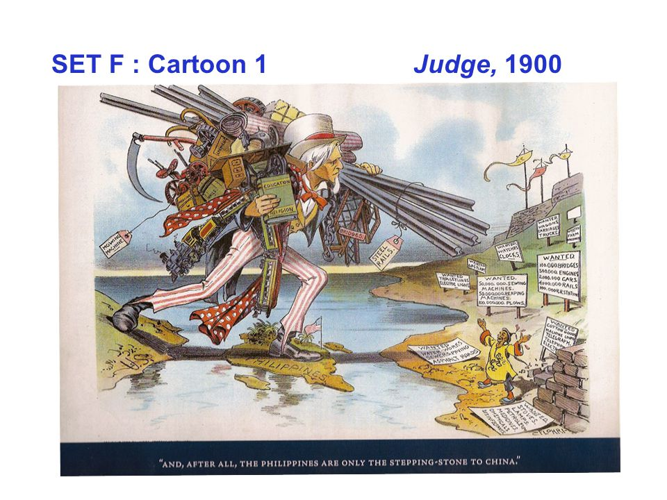 SET F : Cartoon 1 Judge, 1900