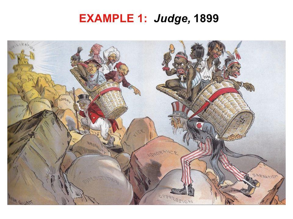EXAMPLE 1: Judge, 1899