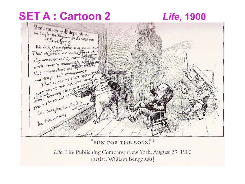 SET A : Cartoon 2 Life, 1900