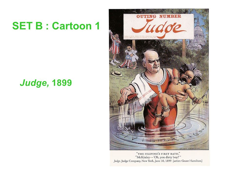 SET B : Cartoon 1 Judge, 1899