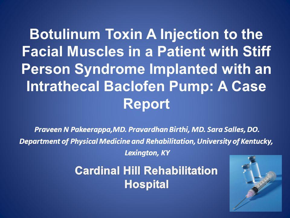 Settings: Outpatient rehabilitation clinic.
