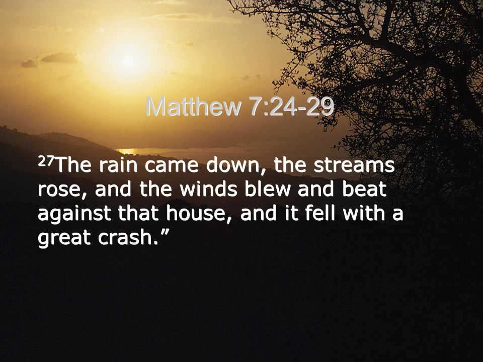 28 When Jesus had finished saying these things, the crowds were amazed at his teaching, 29 because he taught as one who had authority, and not as their teachers of the law.