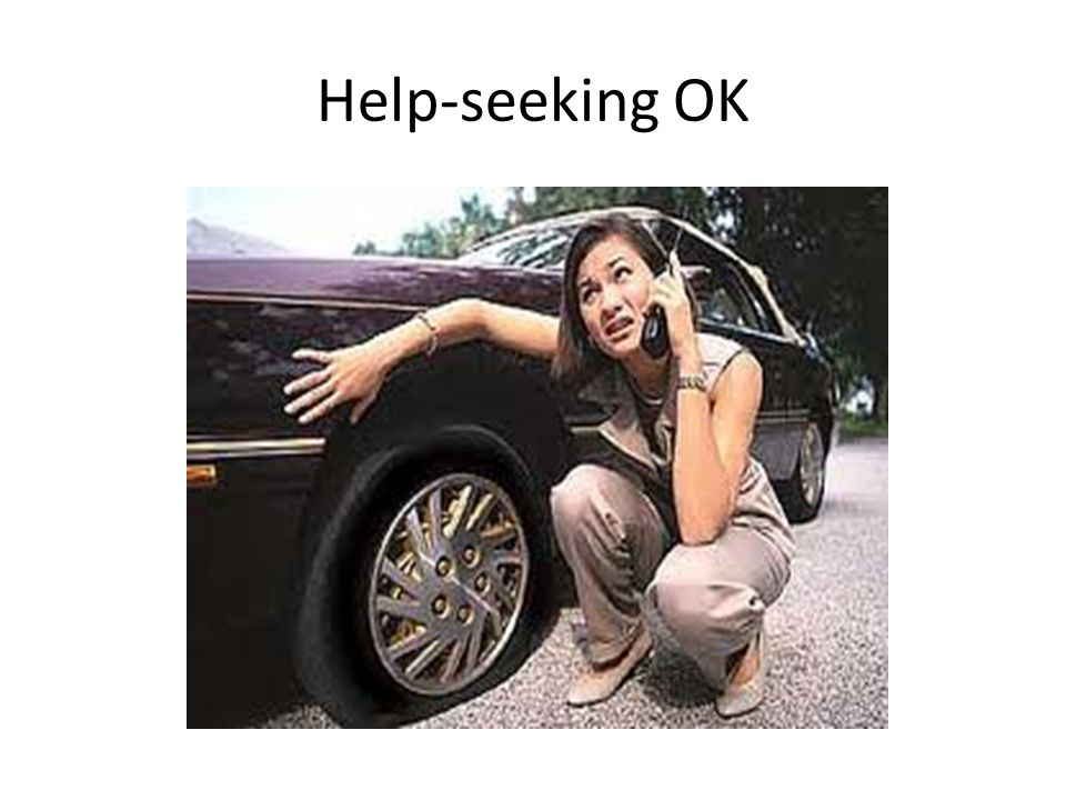 Help-seeking OK