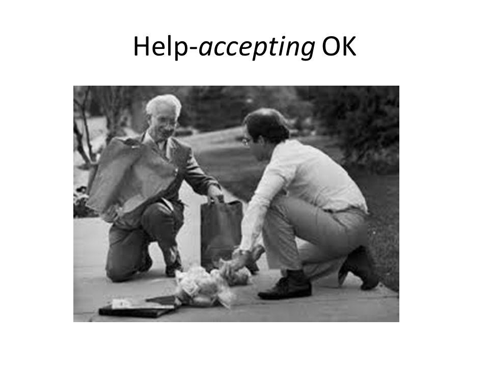 Help-accepting OK