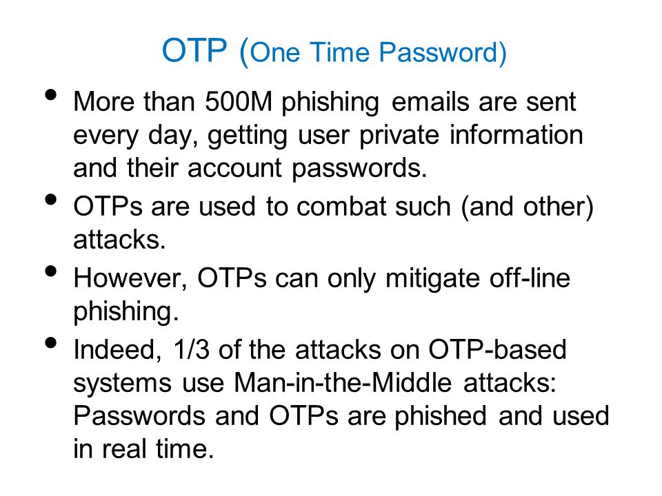 Man-in-the-Device (MITD) Attacker will have access to the shared key.