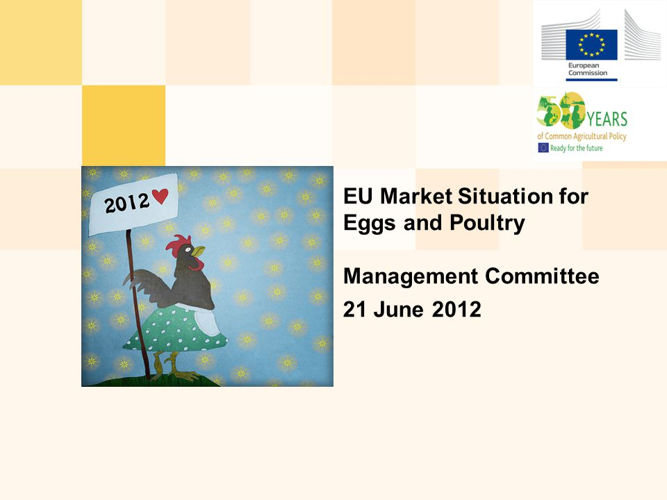 EU Market Situation for Eggs and Poultry Management Committee 21 June 2012
