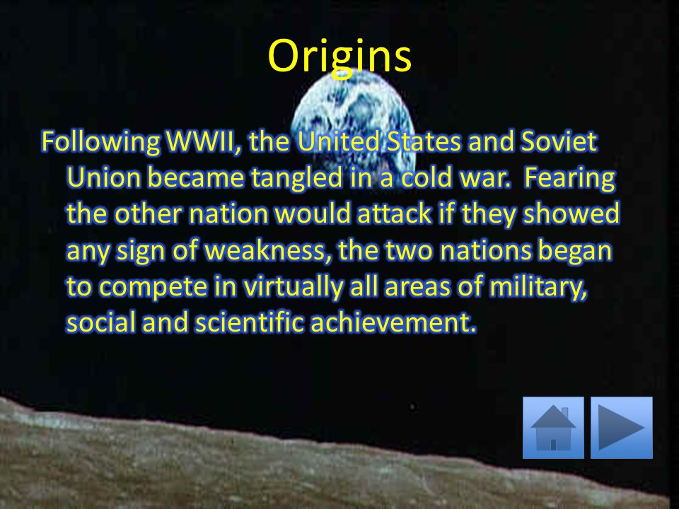 The Space Race Origin Time Line People Assignment