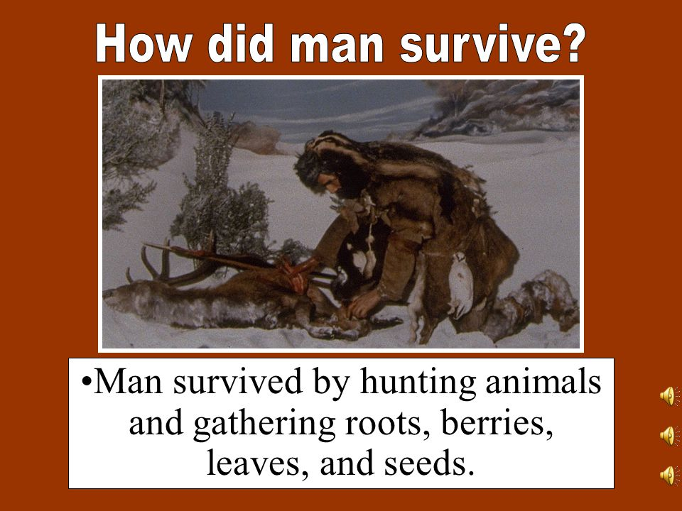 The Old Stone Age or the Paleolithic Era, was a period of time that lasted until about 12,000 to 70,000 years ago.
