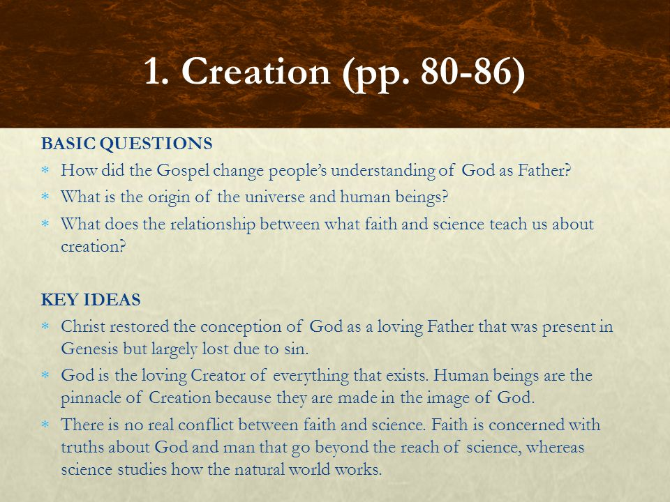 FOCUS QUESTIONS In Genesis 3, what does seed mean.