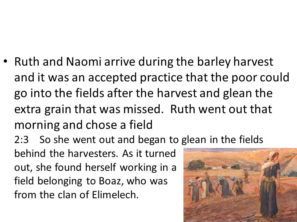 Ruth had chosen God as her God.She left behind the gods of the Moabites.