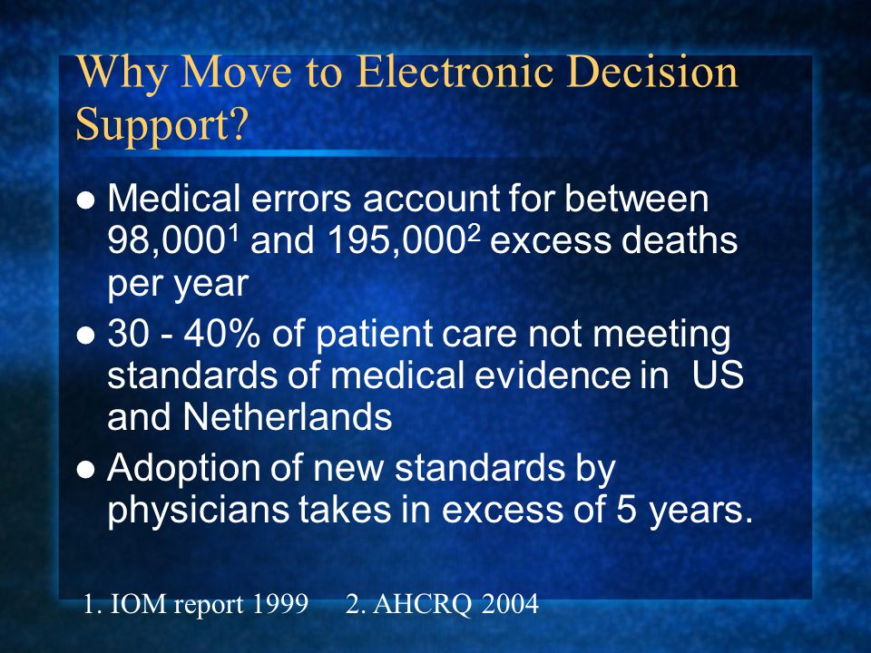 Effects of Computerized Clinical Decision Support Systems on Practitioner Performance and Patient Outcomes.