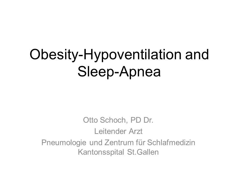 Obesity Hypoventilation OHS Hypoventilation = Wach-Pa CO2 > 6 kPa (>45mmHg) OHS = BMI > 30kg/m 2 + Hypoventilation No pulmonary or neuromuscular disease Increase in prevalence with increase in BMI BMI >50 kg/m 2 = > 50% OHS Prodromal stage: Nocturnal Hypoventilation Amanda Piper, Ronald Grunstein: AJCCM 2011,183: 292-8