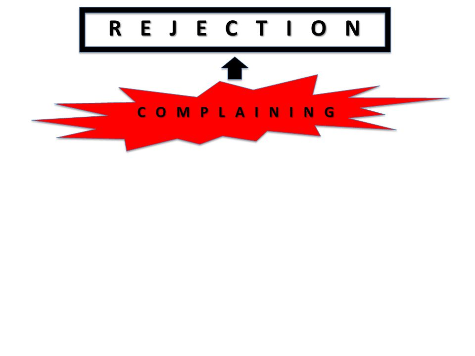 REJECTION COMPLAINING